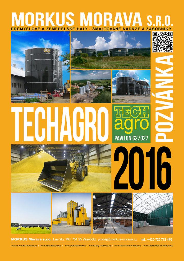 Pozvánka na Techagro 2016