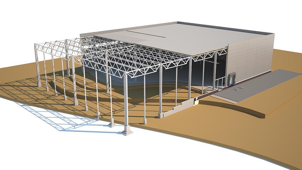 Montované skladovací haly 11