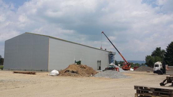 Ocelová skladovací hala Biomac 2 - I 06