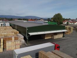 Přístavba skladu Wotan Forest, a.s. Horka u Staré Paky 01