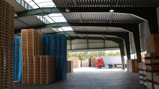 Přístavba skladu Wotan Forest, a.s. Horka u Staré Paky 02