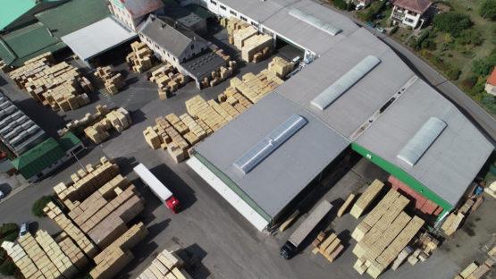 Přístavba skladu Wotan Forest, a.s. Horka u Staré Paky 03
